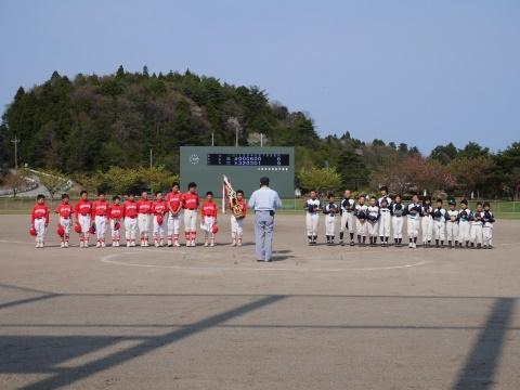 鳳珠学童野球春季大会兼能登北大会予選